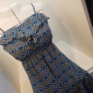 2/$20 L URBAN LOVE Maxi Long Dress Blue Sleeveless